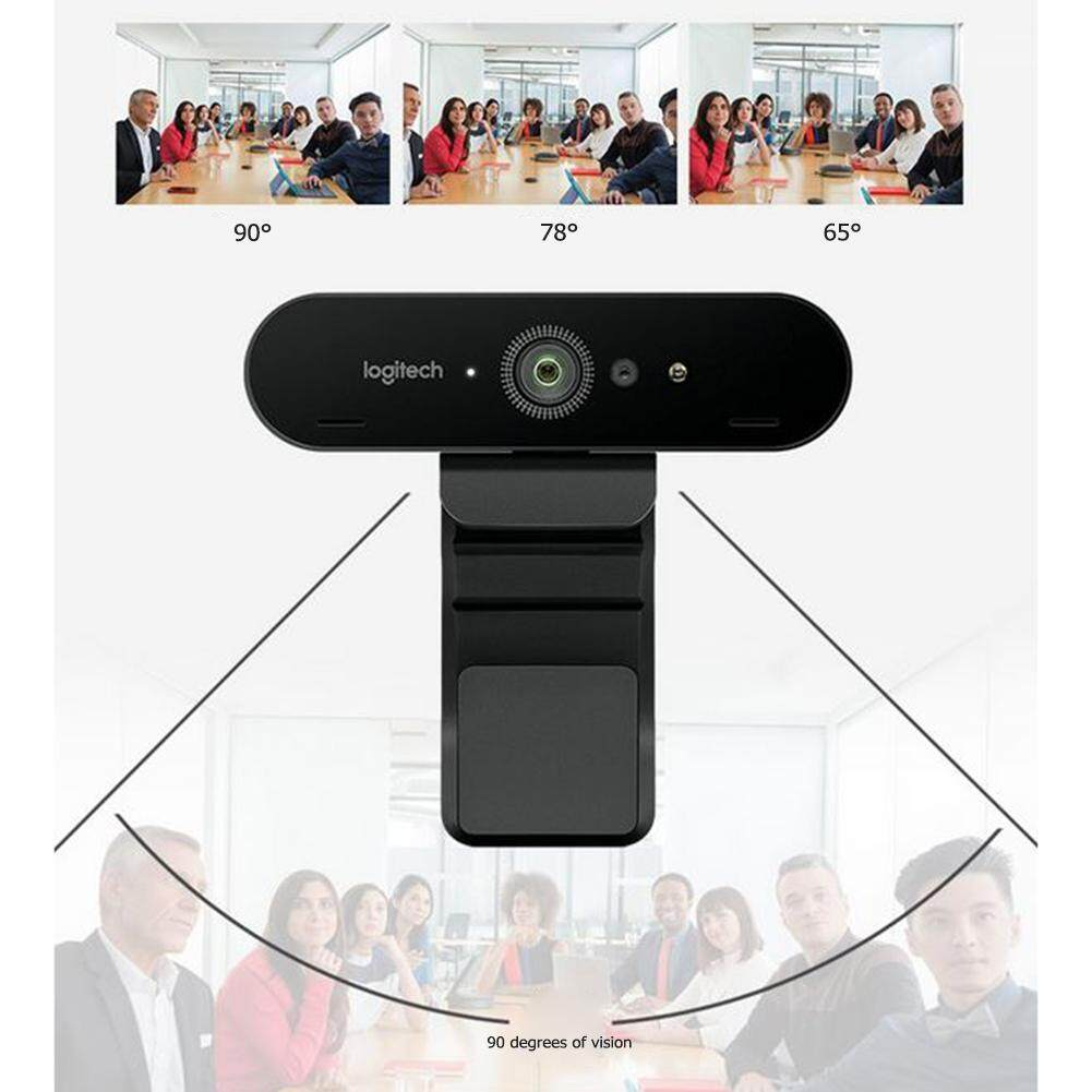 Logitech BRIO C1000e 4K HD Webcam for Video Conference Streaming Recording
