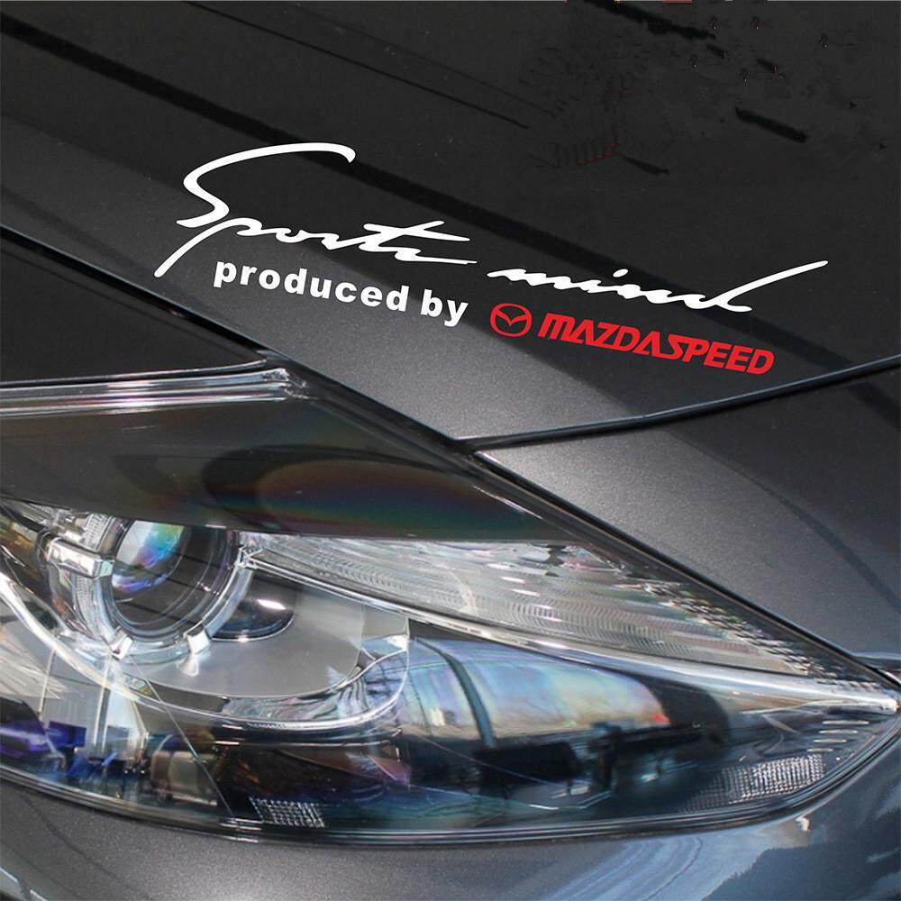 Product details of new performance vinyl decal headlight car lamp eyebrow sport sticker for mazda 2 3 5 6 cx 3 cx 5 cx 7