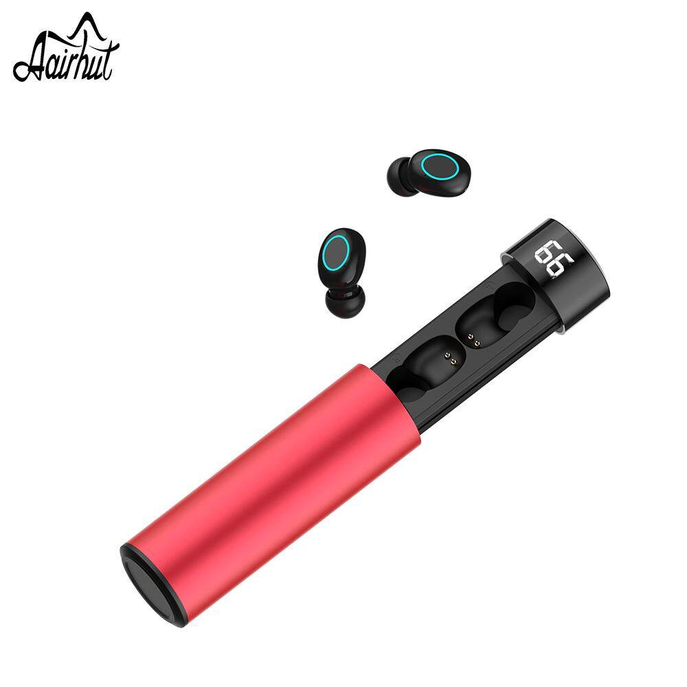 Aairhut Q32 Bluetooth V5 0 Wireless Headset touch control Binaural Super  Small Mini Invisible Sports in - Ear Running TWS Bluetooth V5 0 Mini with
