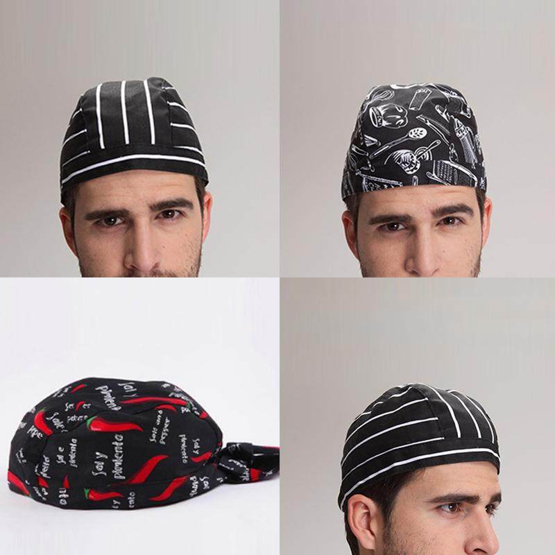 fac49dbf2445b Specifications of New Mens Hotel Chef Hat Japanese Waiter Cap Hair Wrap  Sushi Work Cap Headscarf