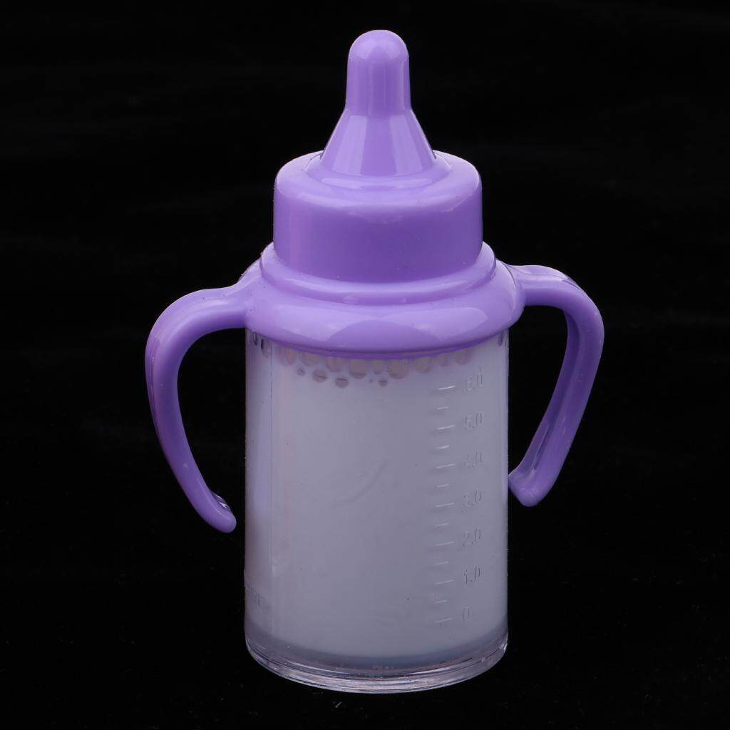 Magic Disappearing Milk and Juice Bottles for Newborn Baby Dolls Accessory