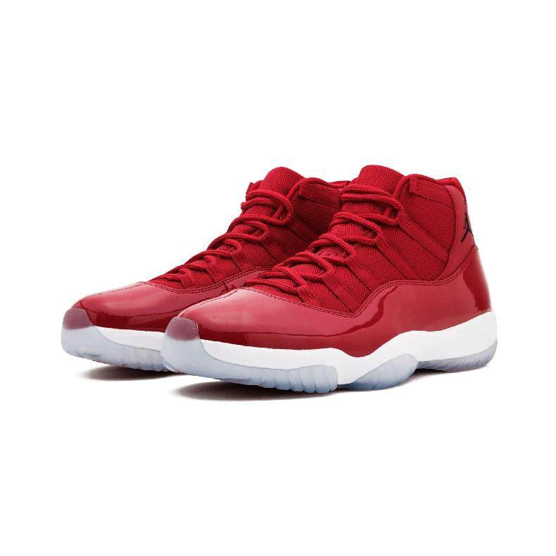 9c7243bdbe2 Specifications of Original Authentic NIKE Air Jordan 11 Retro Legend Blue  AJ11 Mens Basketball Shoes Sneakers Sport Outdoor Athletic 2018 New