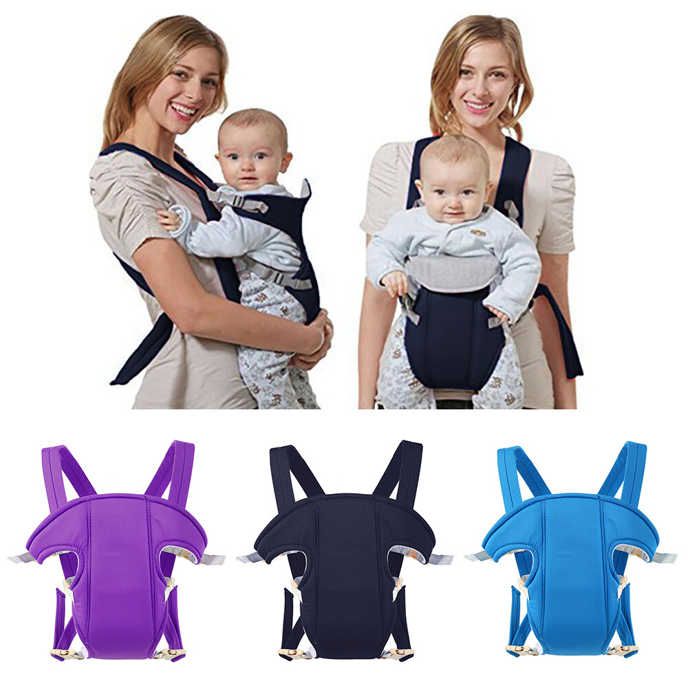 Baby Carrier Sling Wrap Infant Adjustable Backpack Breathable Ergonomic Bag Mom
