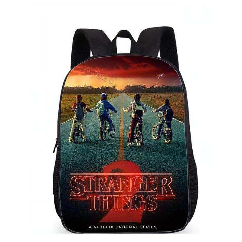 12d743c1665c LUOBIWANG Stranger Things Backpack For Teenagers Boys Girls School Bags  Sans Women Men Travel Bag Children Backpacks Mochila
