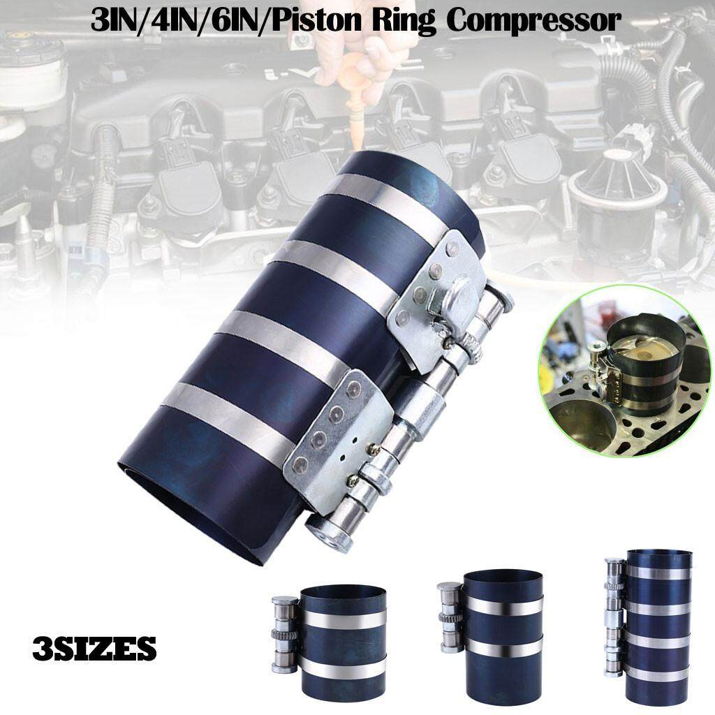 Piston Ring Compressor Installer Ratchet Plier Remover Expander Engine Tool Able