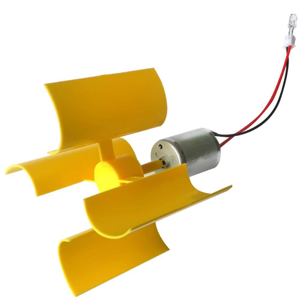 Blesiya Micro Wind Turbines Generator DC Motor LED DIY Kits Set Kids  Assemble Toy