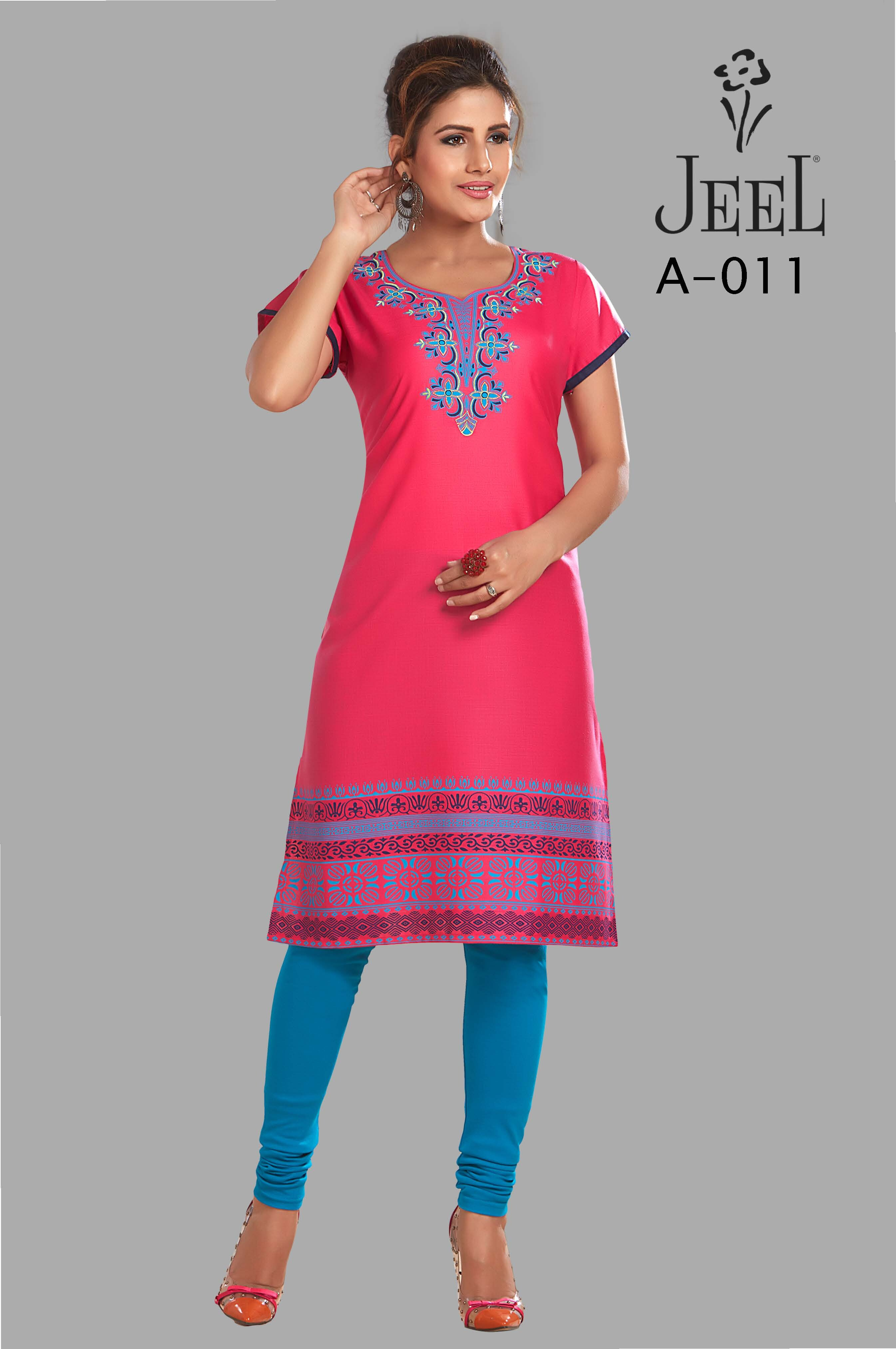 Jeel Silk Cotton Kurtis Buy Sell Online Blouses With Cheap Price Lazada