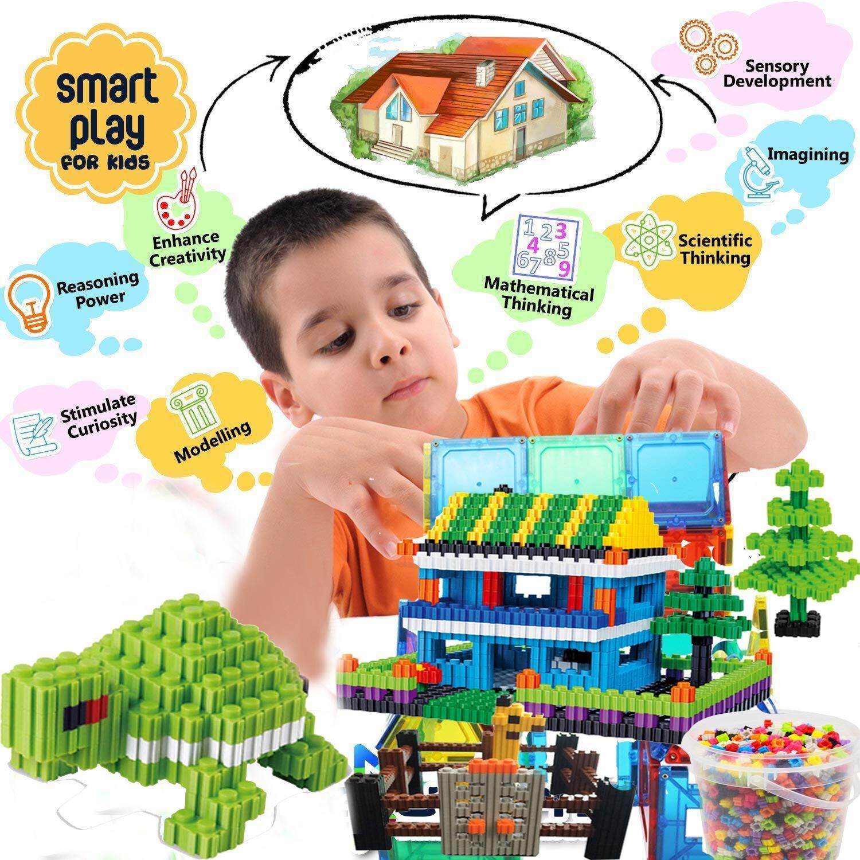 Assorted Kids Creative Toys Family Building Construction Bricks DIY Blocks Gift