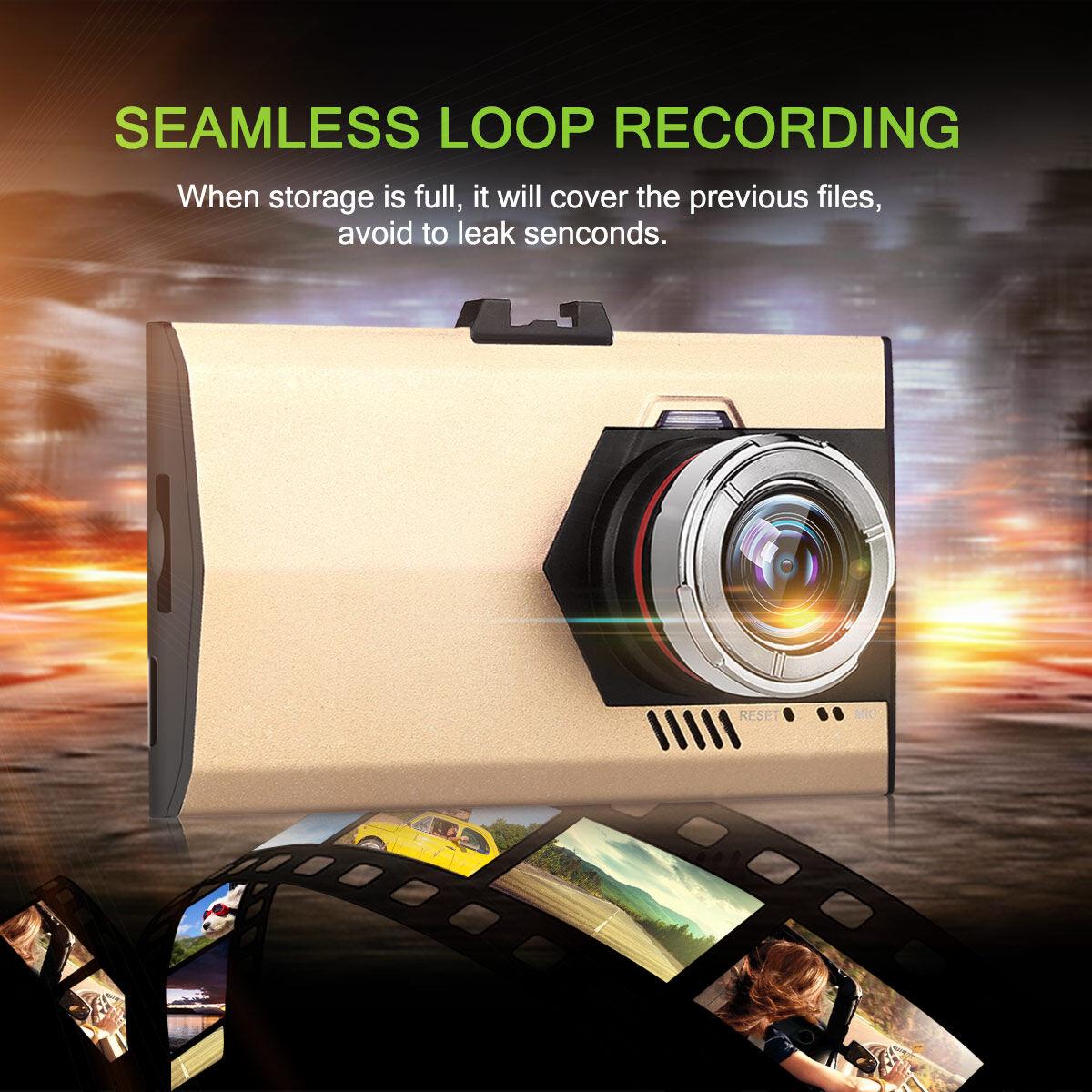 A8L 110 ° Mobil Dvr Di Digital Video Perekam Keemasan Promo Beli 1 Gratis 1