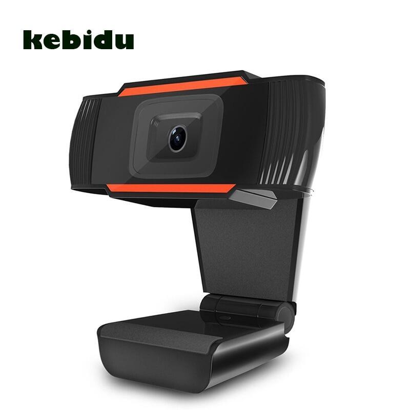 KEBETEME Webcam Độ Nét Cao 480P 720P Máy Quay USB Có Thể Xoay Ghi Video Camera Web Với Micrô Cho Máy Tính Để Bàn 7