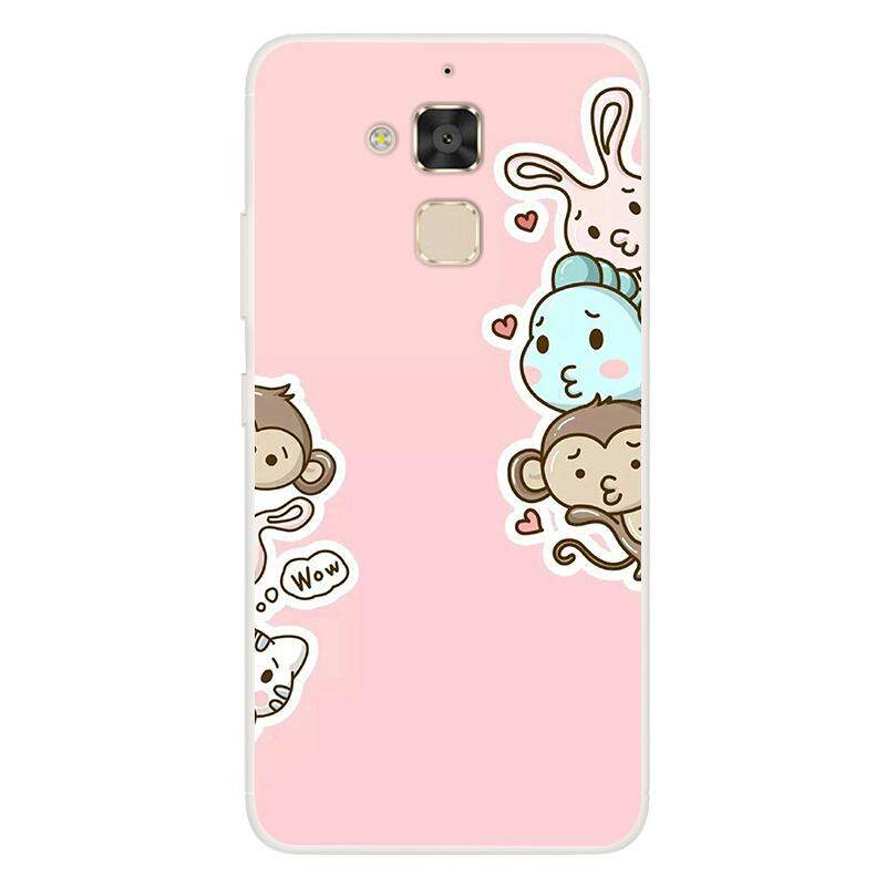 Fashion Cute Cartoon Animals Phone Case For Asus Zenfone 3 Max ZC520TL  Painted Phone Case For Asus Soft Silicone Full Back Cover