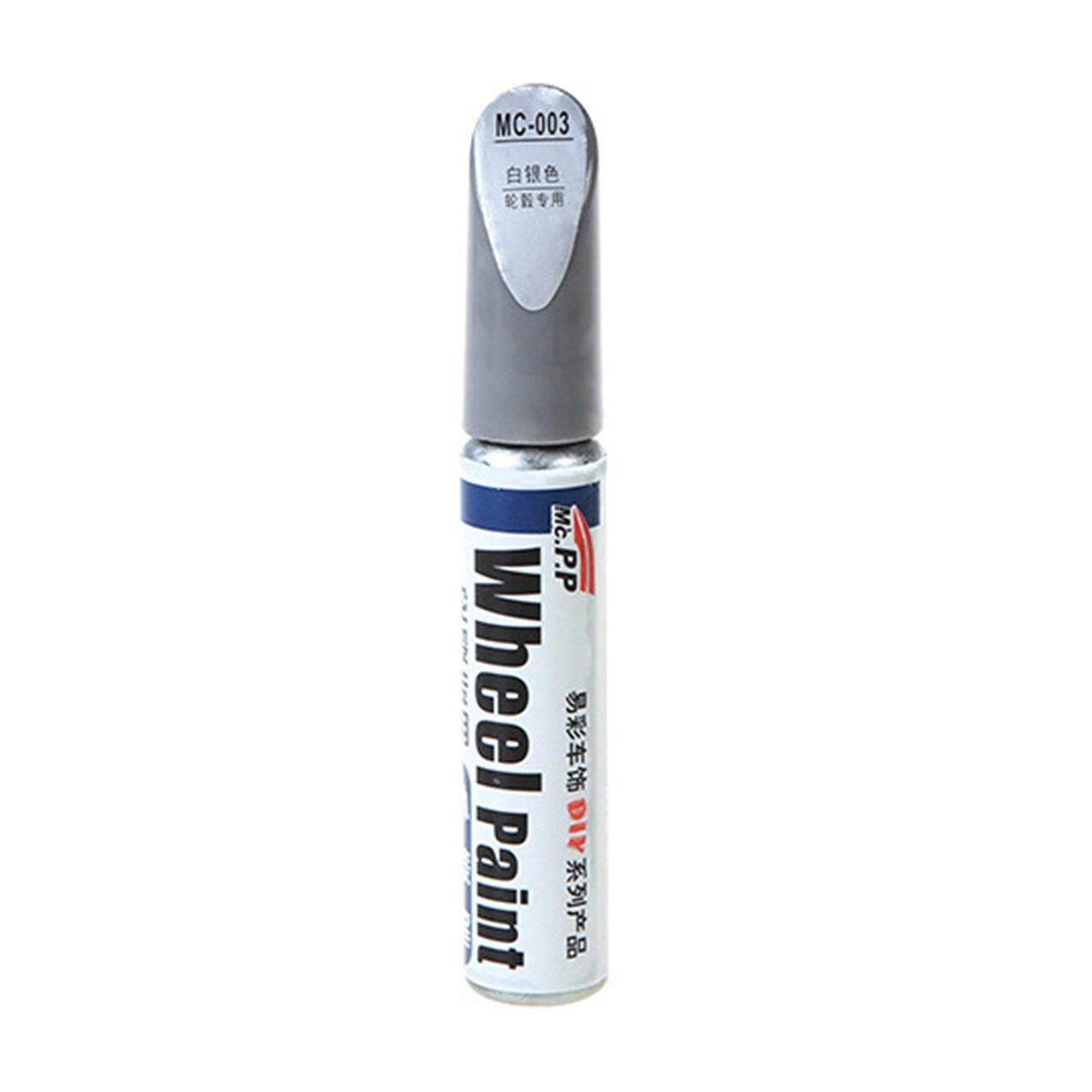 Crazy Sale Car Wheel Scratch Repair Touch Up Pen Aluminum Alloy White Touch Up Paint