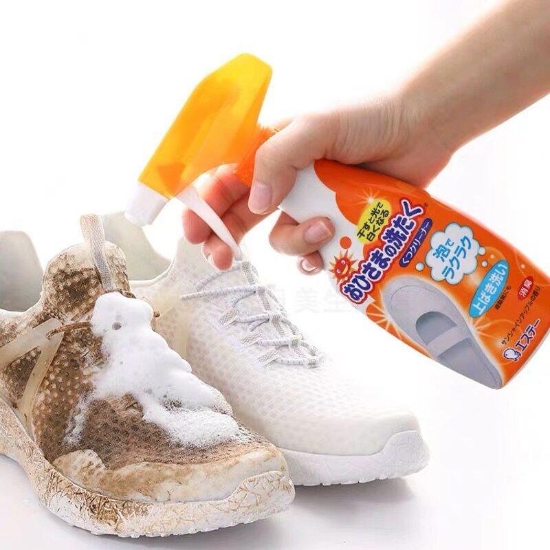 Ready Stock] Japan ST Corporation Sunshine Power Shoe Cleaner 日本原装进口小鸡仔洗鞋剂  | Lazada