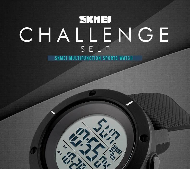 Product details of SKMEI Men Sport Watch Simple Digital Watches Double Time  Countdown Clock Minimalist Watch Waterproof Wristwatches Jam tangan lelaki  1213 0d8d25bc72