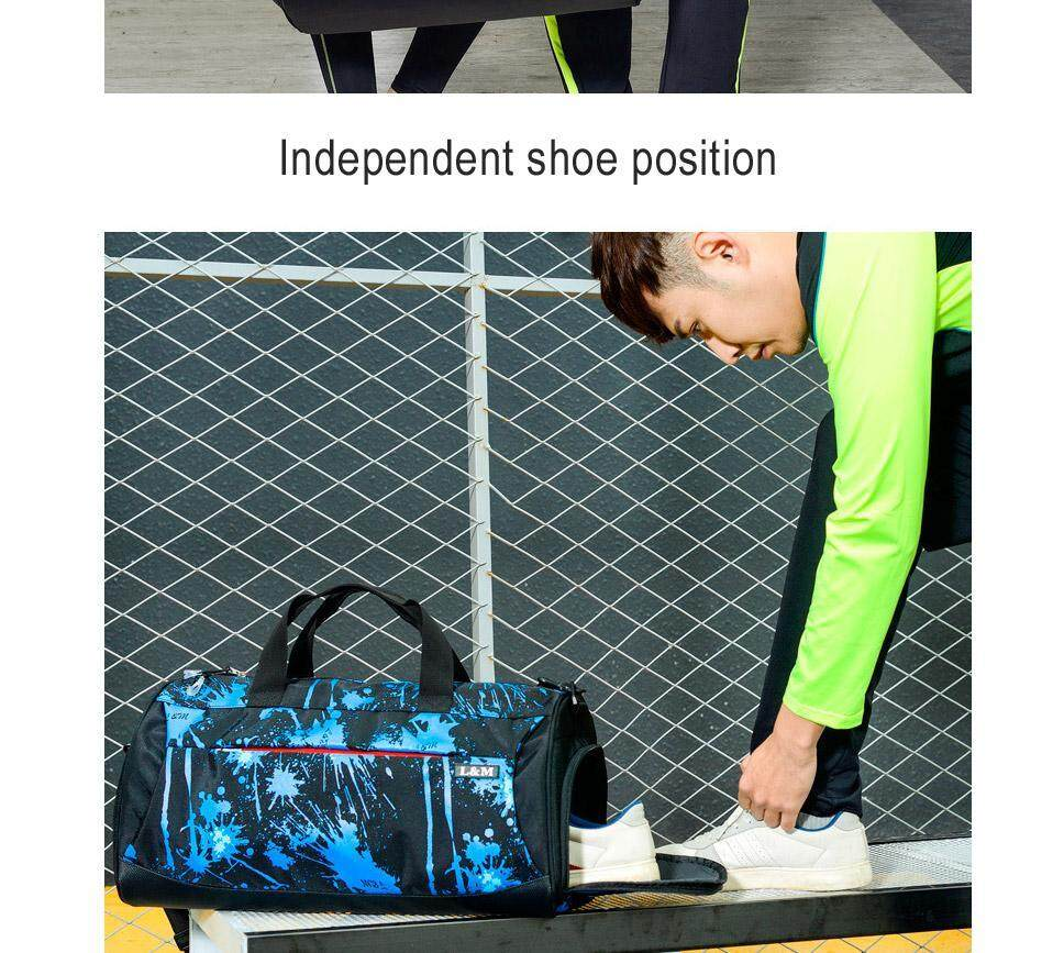 71cd6f02acfc Product details of Multifunction Outdoor Sports Fitness Gym Bag Dry And Wet  Separation Handbag Travel Shoulder Bag With Space For Shoes