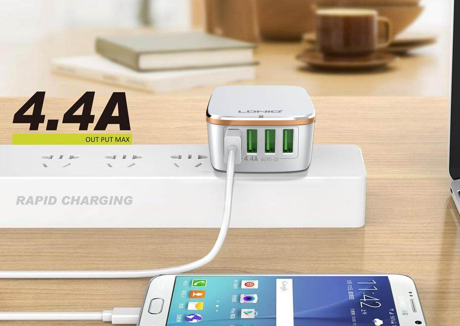 LDNIO USB TRAVEL CHARGER  (3)