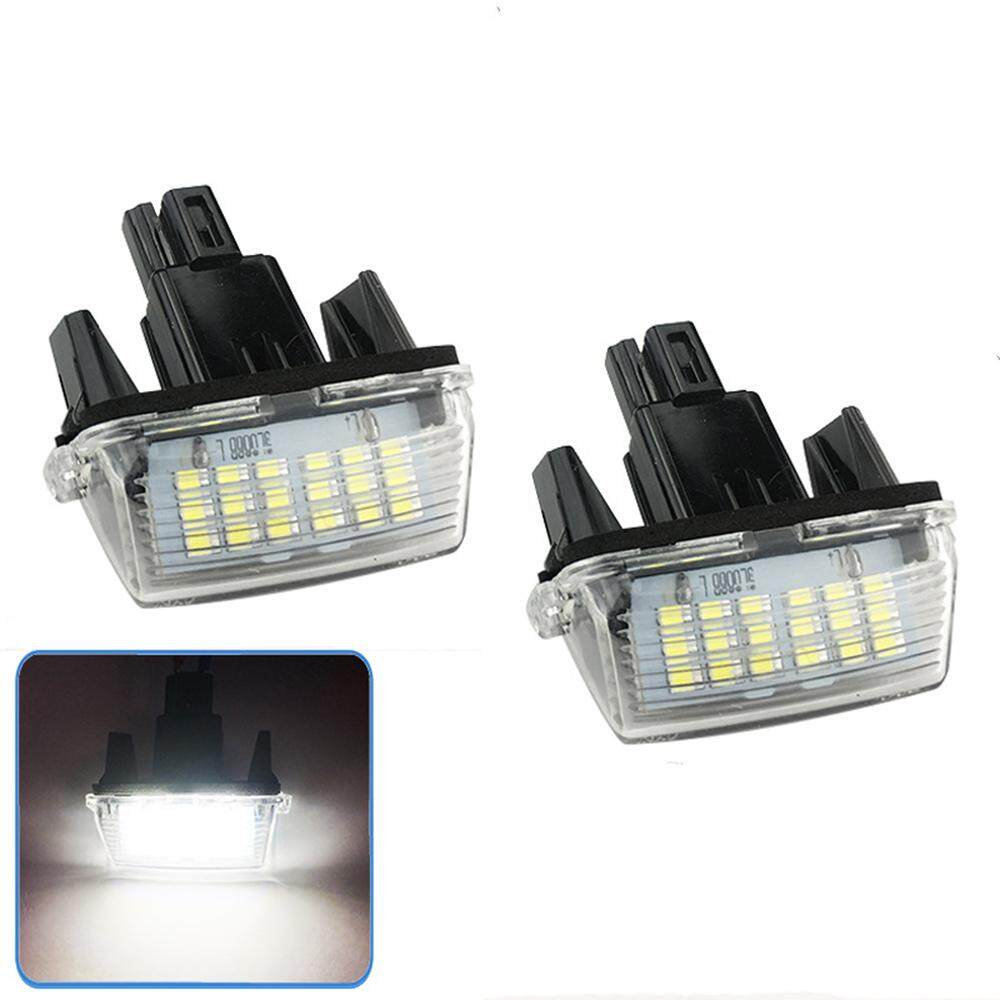 PL 2pcs/set Led Licence Number Plate Lamp Light for Toyota  Camry/YARIS/VIOS/ Avensis
