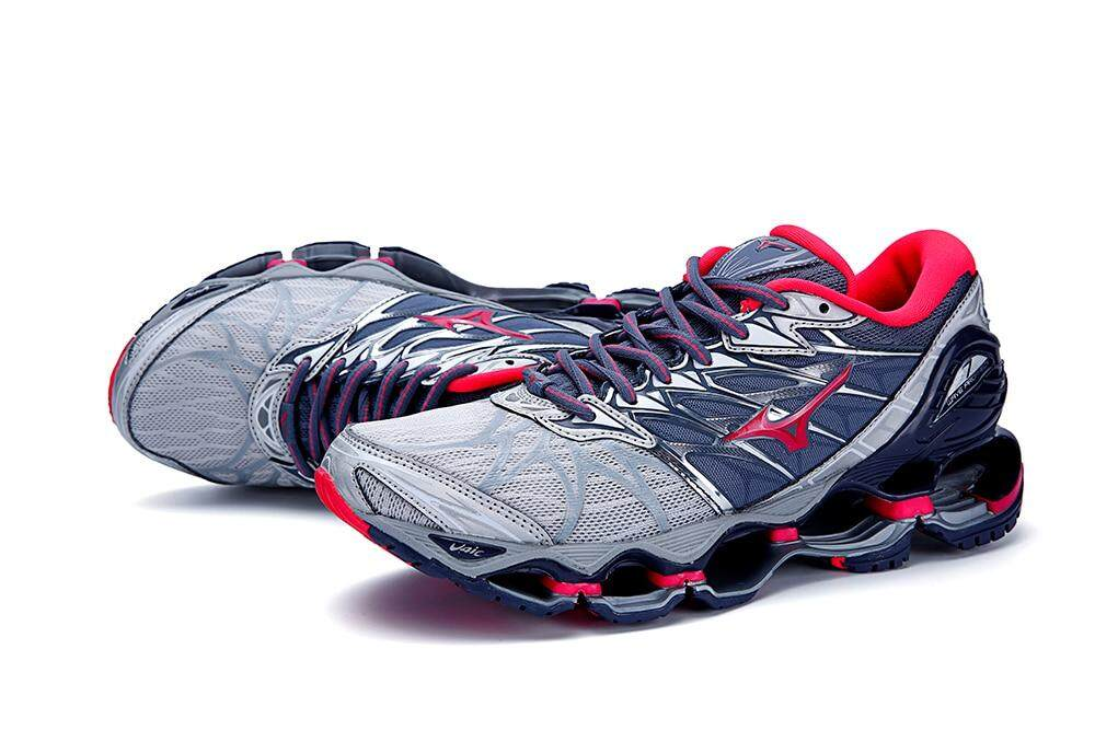 buy popular 5ca7e 1f978 2018 Mizuno Wave Prophecy 7 Women Running Shoes Professional Sneakers 5  Colors Classic Stable Sports Shoes Size 36-41