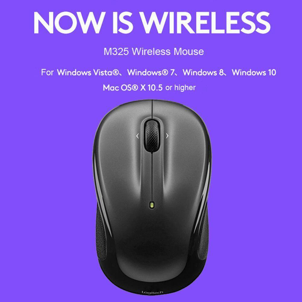 domybest Official Store M325 3 Buttons USB Wireless 1000 DPI 2 4GHz  Unifying Optical Mouse FOR Logitech