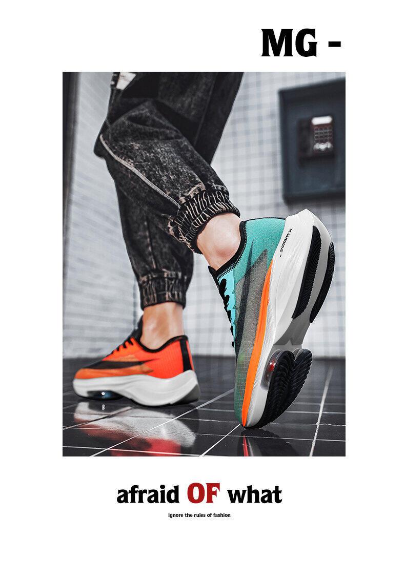 Giày Nam Rách 2 Giày Thể Thao Trang Web Chính Thức Phủ Điền Marathon Giày Chạy Bộ Rách 2 Mặt Lưới Pegasus Giày Chạy Đệm Khí Uyên Ương Nam 3