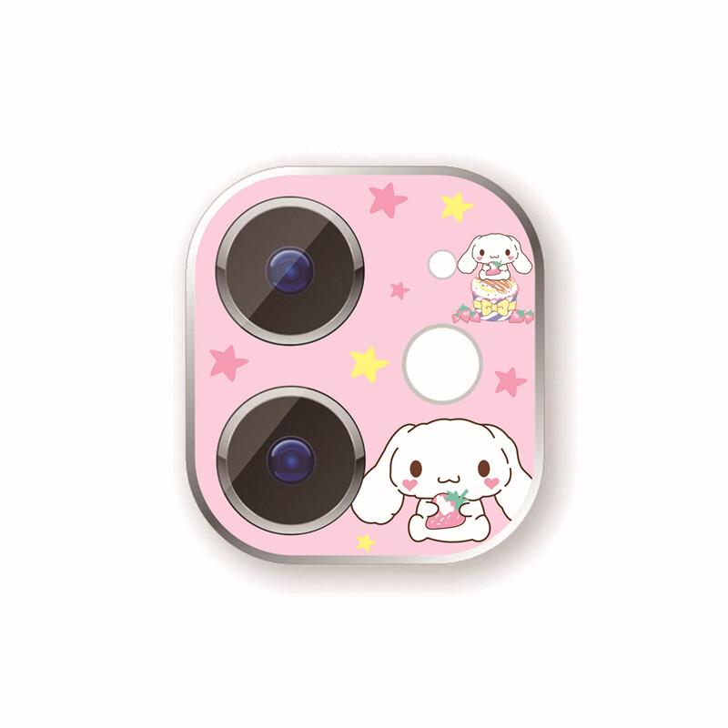 Anh Ins Đáng Yêu Hoạt Hình Ống Kính Màng Bảo Vệ Cho IPhone12 Apple 11 Camera Màng Bảo Vệ Chống Trầy Xước 6
