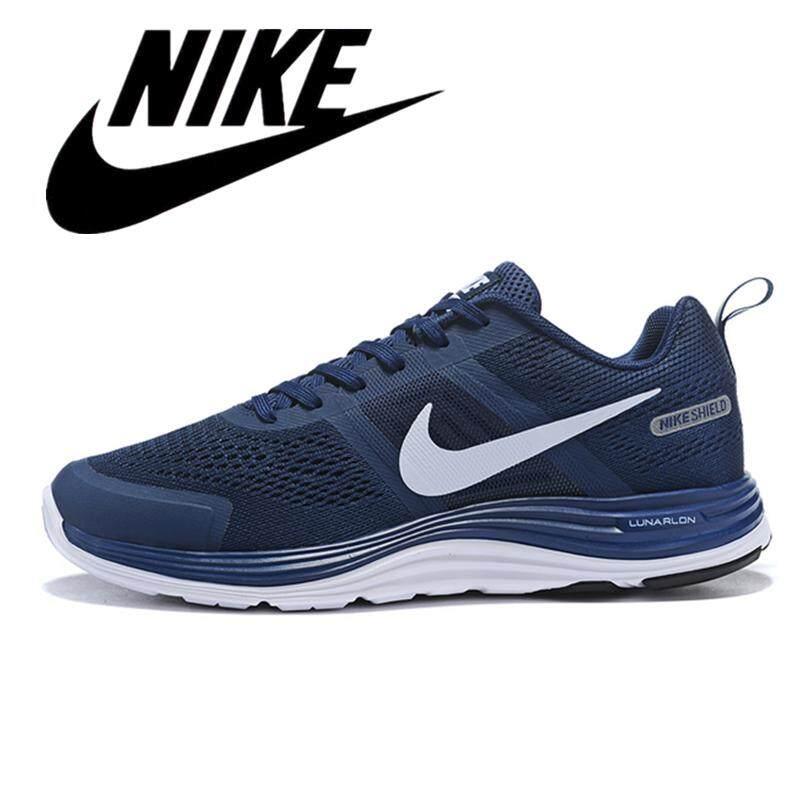 Running Shoes Lightweight Sneakers Blue