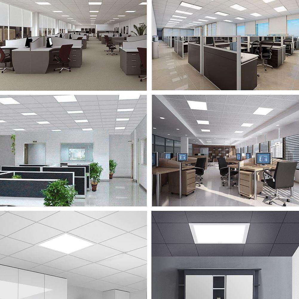 Ceiling Light 48W Ceiling Suspended Recessed LED Panel White Light Office Lighting Panel LED Light Panel Light 60cm x 60cm(23.6inchX23.6inch) | Lazada