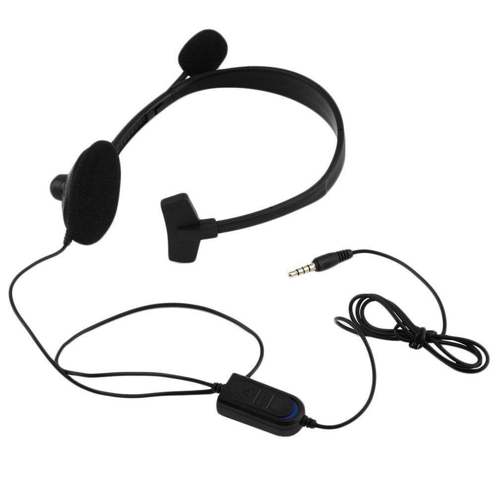 Product details of Hot Wired Gaming Game Headset Earphone for Playstation PS4 with VOL Portable