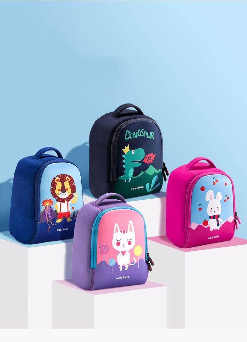 4236a7f09 Uek small school bag kindergarten male baby girl Korean version of the  cartoon dinosaur bag nursery 3-5 years old children backpack