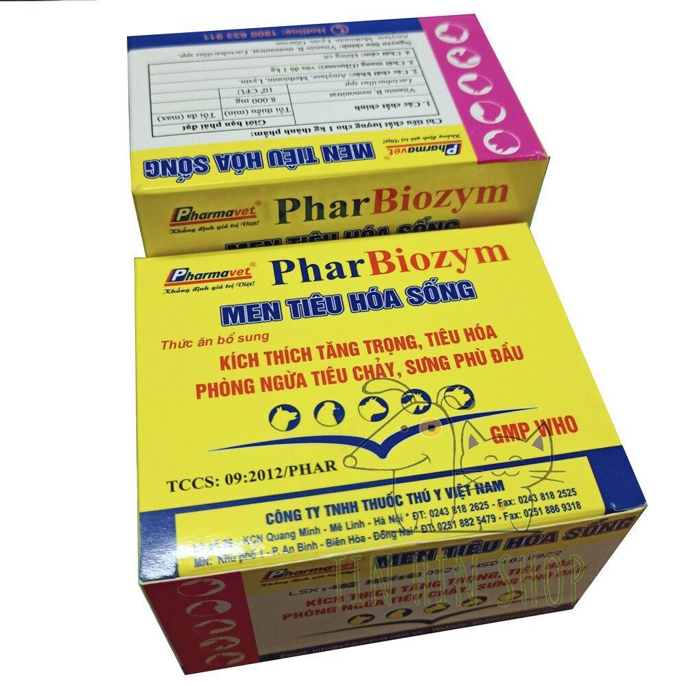 [ Freeship ] Men tiêu hóa sống Pharbiozym cho chó mèo ( 5 Gói Lẻ ) 3