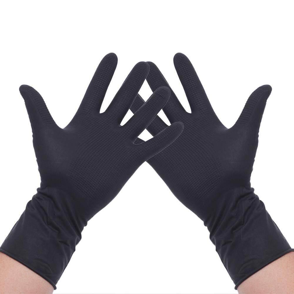 OEM 1 Pair Professional Hair Dye Gloves Hair Coloring Accessories For Hair  Salon Hair Dyeing, Acid And Alkali Resistant Gloves Black Latex Gloves, ...