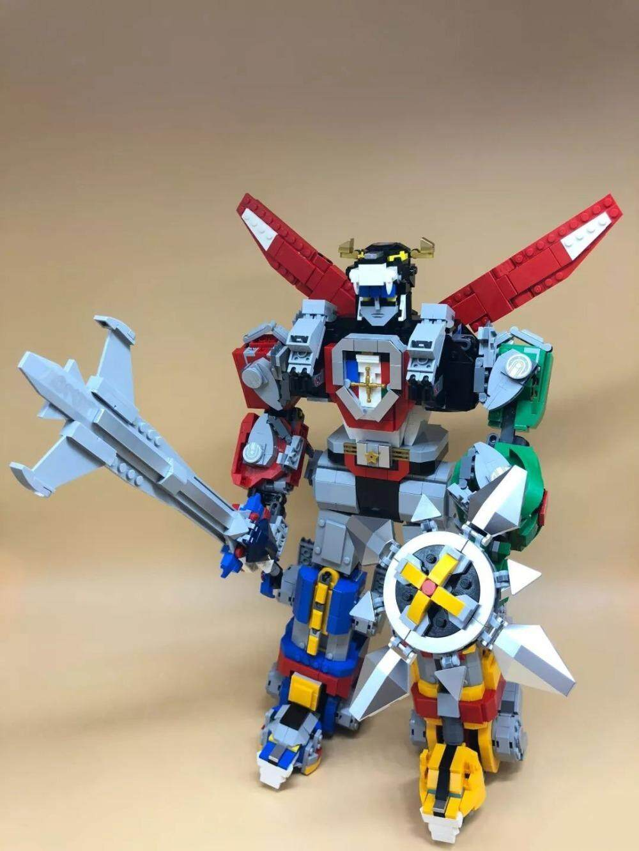 16057 Ideas Series Voltron Defender Of The Universe Model Building Block 2334pcs