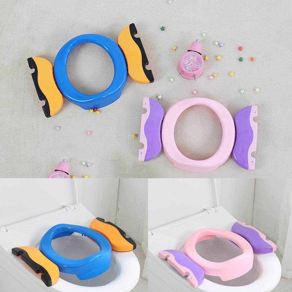 portable Foldable Kids Potty Seat Potty Trainer with 10 PP Bags