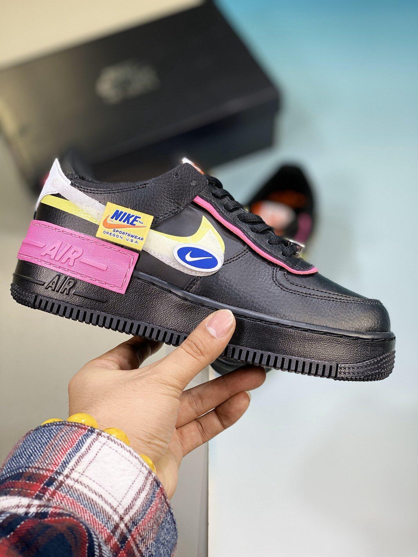 Nike Air Force 1 Shadow Vast Grey Laser Orange Casual Shoes Woman Black Lazada Nike air force 1 shadow triple white weiß eu 36,5 ✅deadstock✅. lazada