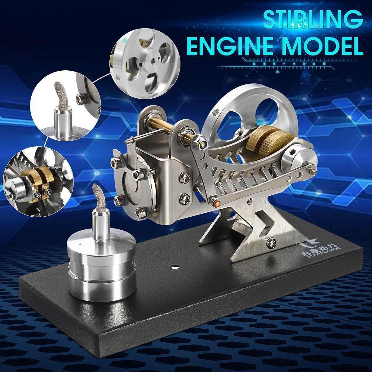 STARPOWER Live Vacuum Engine Hot Air Stirling Engine Model Science Study  Developmental Toy