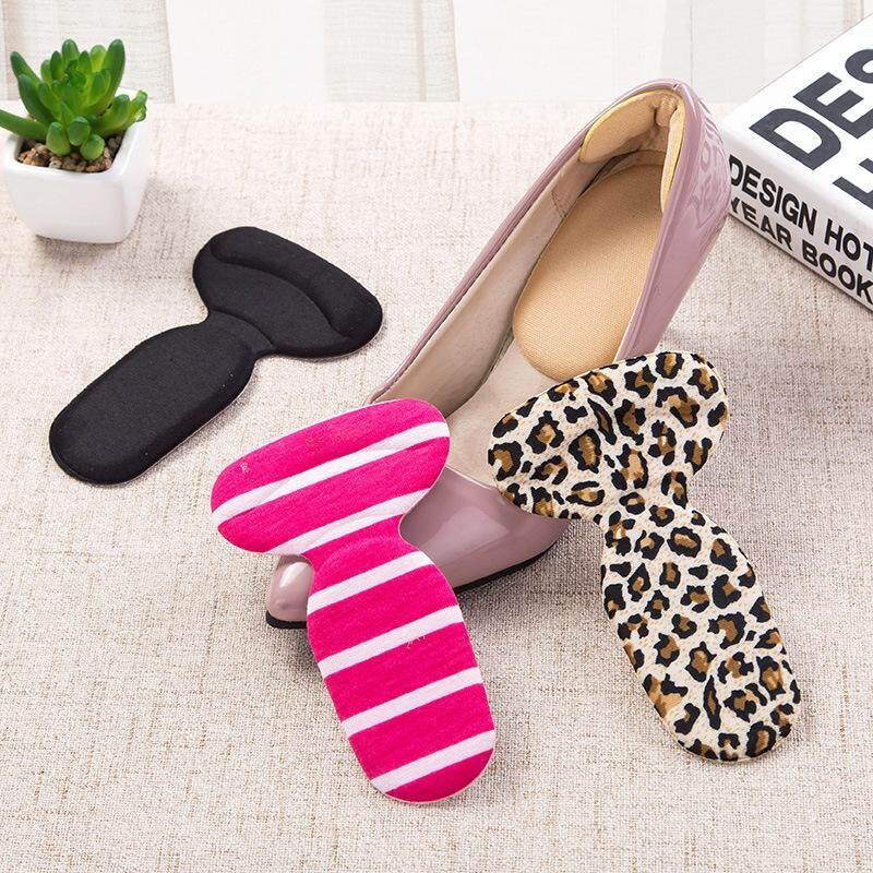 9189c0d00a4 Three Pairs Soft T-Shape High Heel Grips Liner Two-in-one Arch Support  Orthotic Shoe Comfortable Wear-Resistant Inserts Insoles Foot Heel  Protector ...