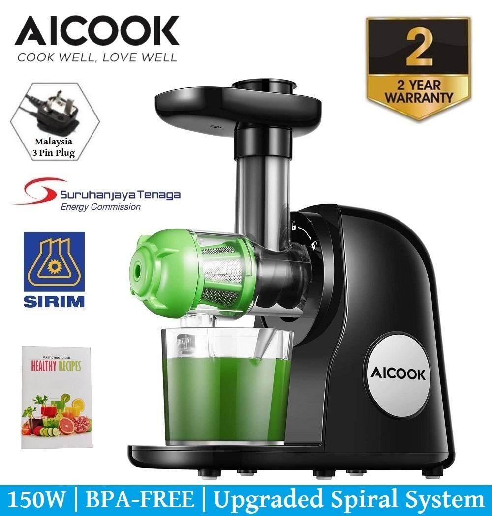 Msia Plug) Maidronic Stainless Steel Fruit Vegetable Juicer