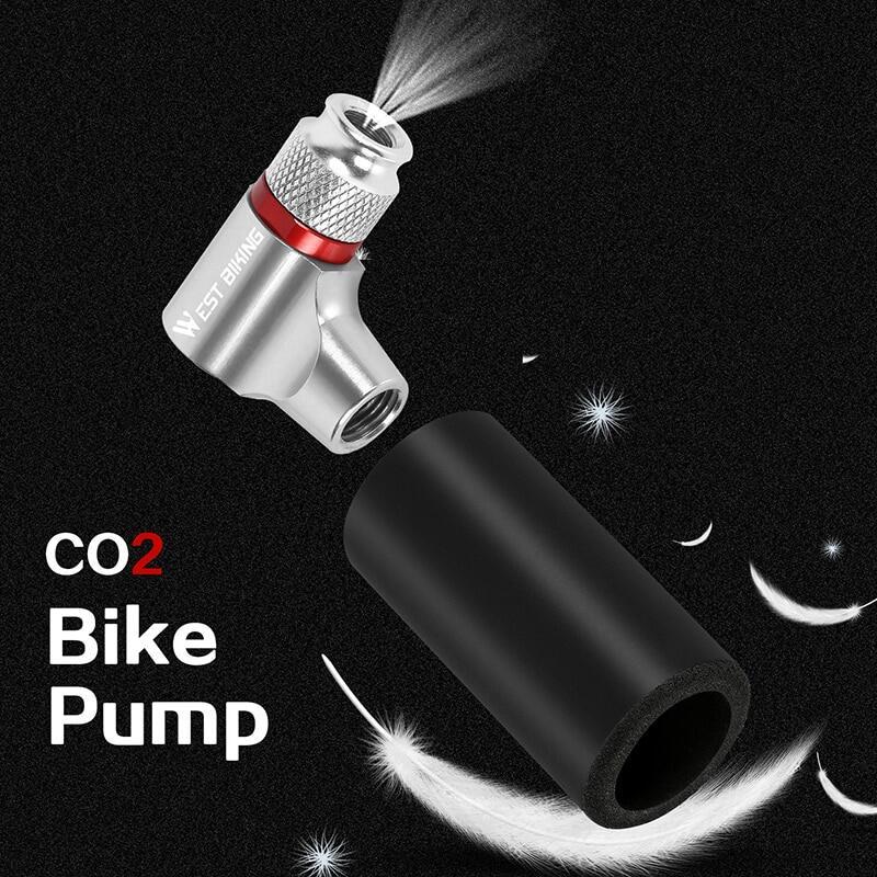 RockBros Bike Bicycle Pump Mini Pumps Presta /& Schrader Dual Aluminum Alloy