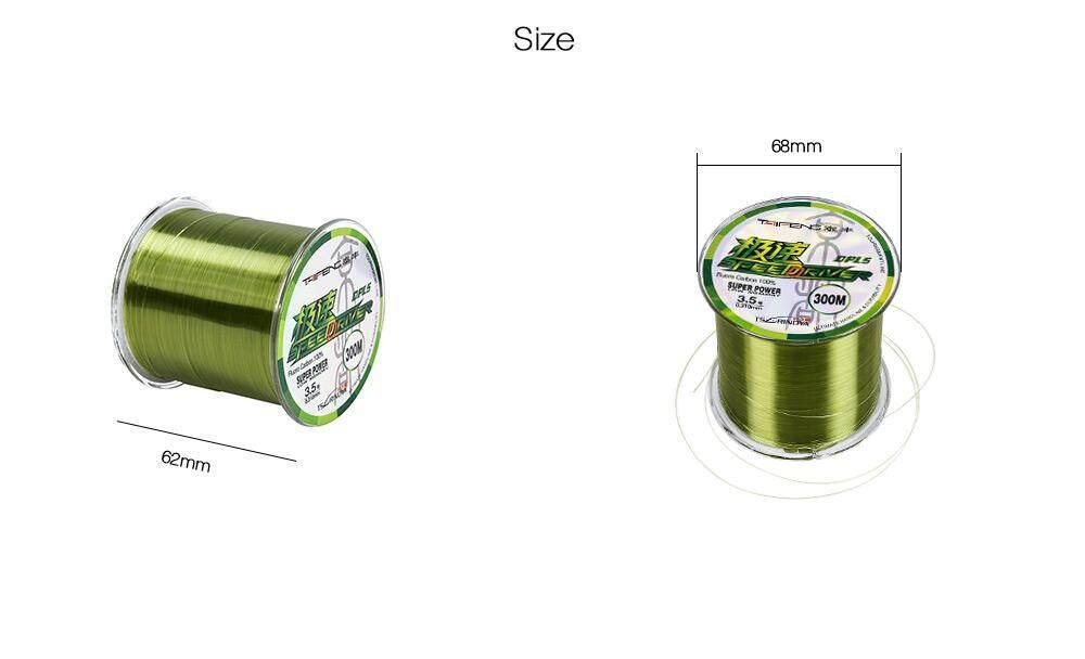 TSURINOYA G 300M 6 - 18 kg Nylon Fishing Line