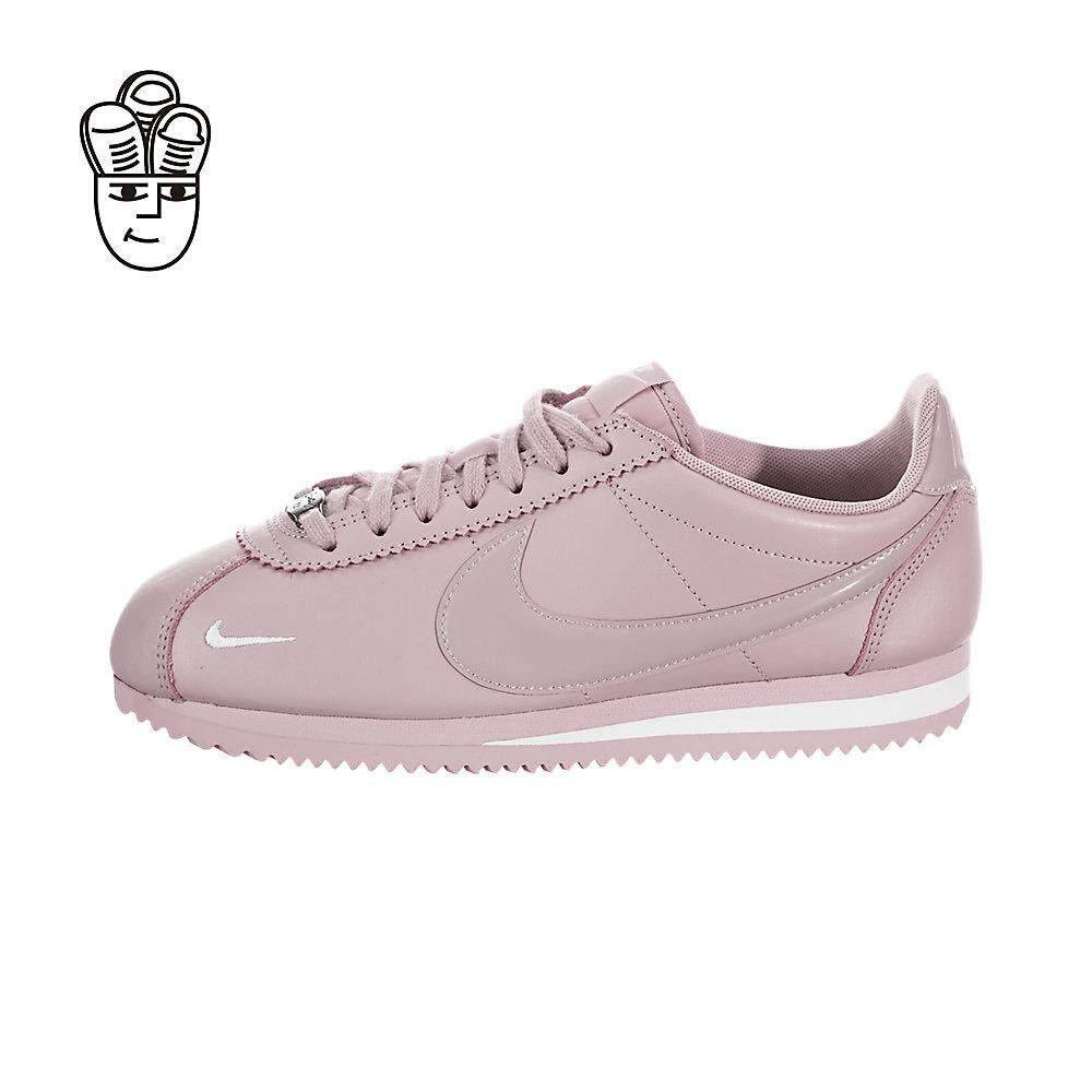 low priced 531cb 3f8a6 Nike Women's Classic Cortez Premium Retro Running Shoes Women 905614-501 -SH