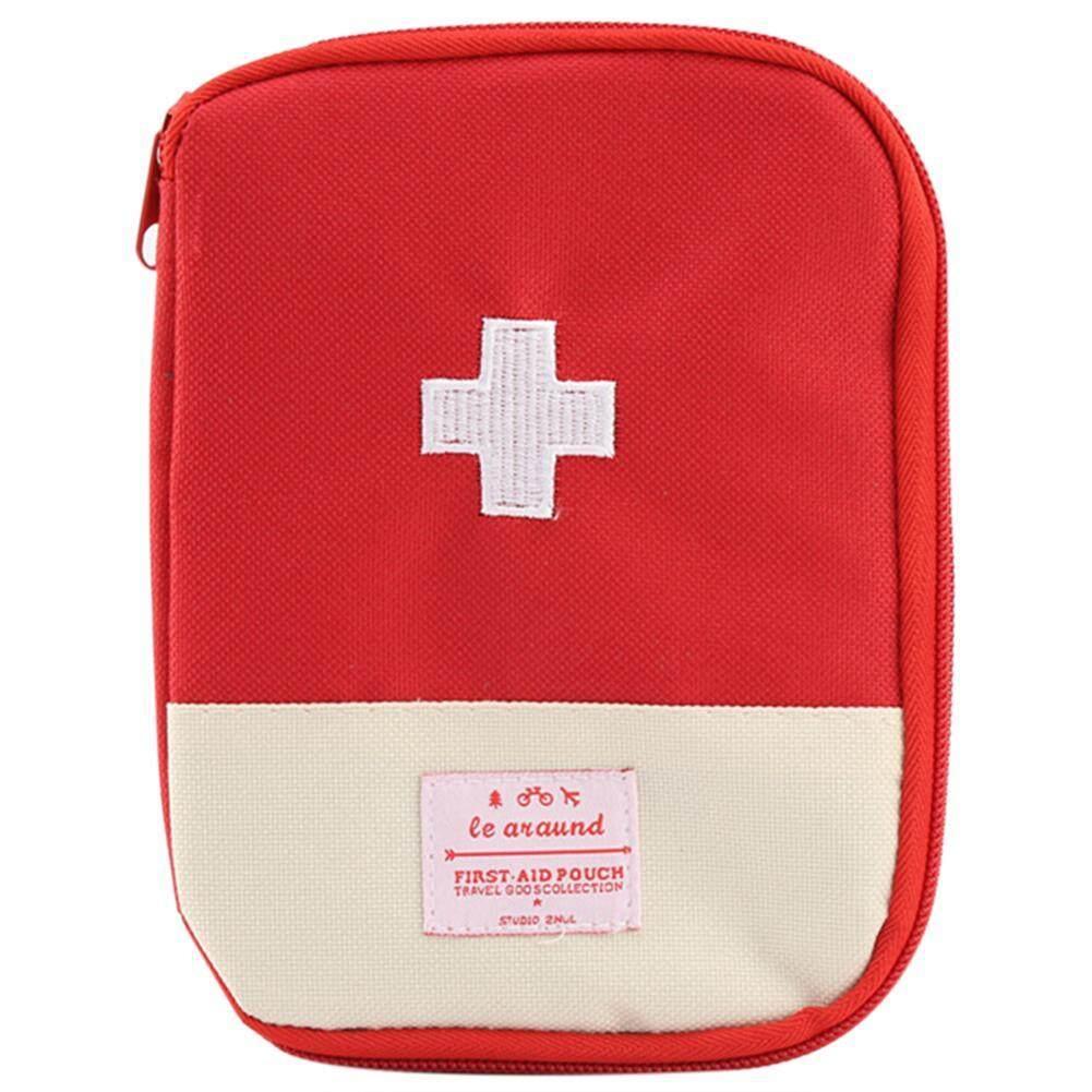 Portable First Aid Emergency Medicine Storage Kit Bag Pill Divide Organizer