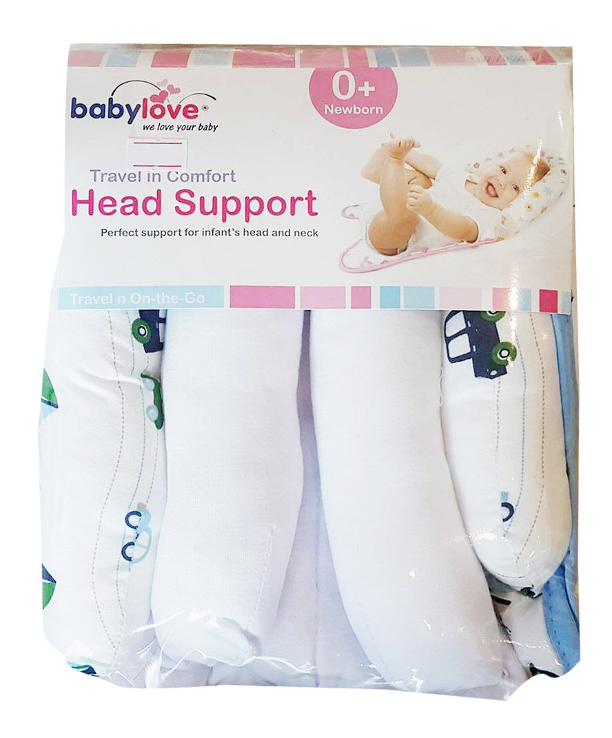Babylove Baby Head Support (Captain Blue)