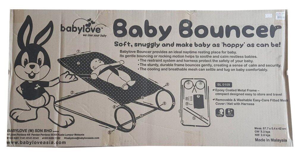 Babylove Compact Bouncer XL
