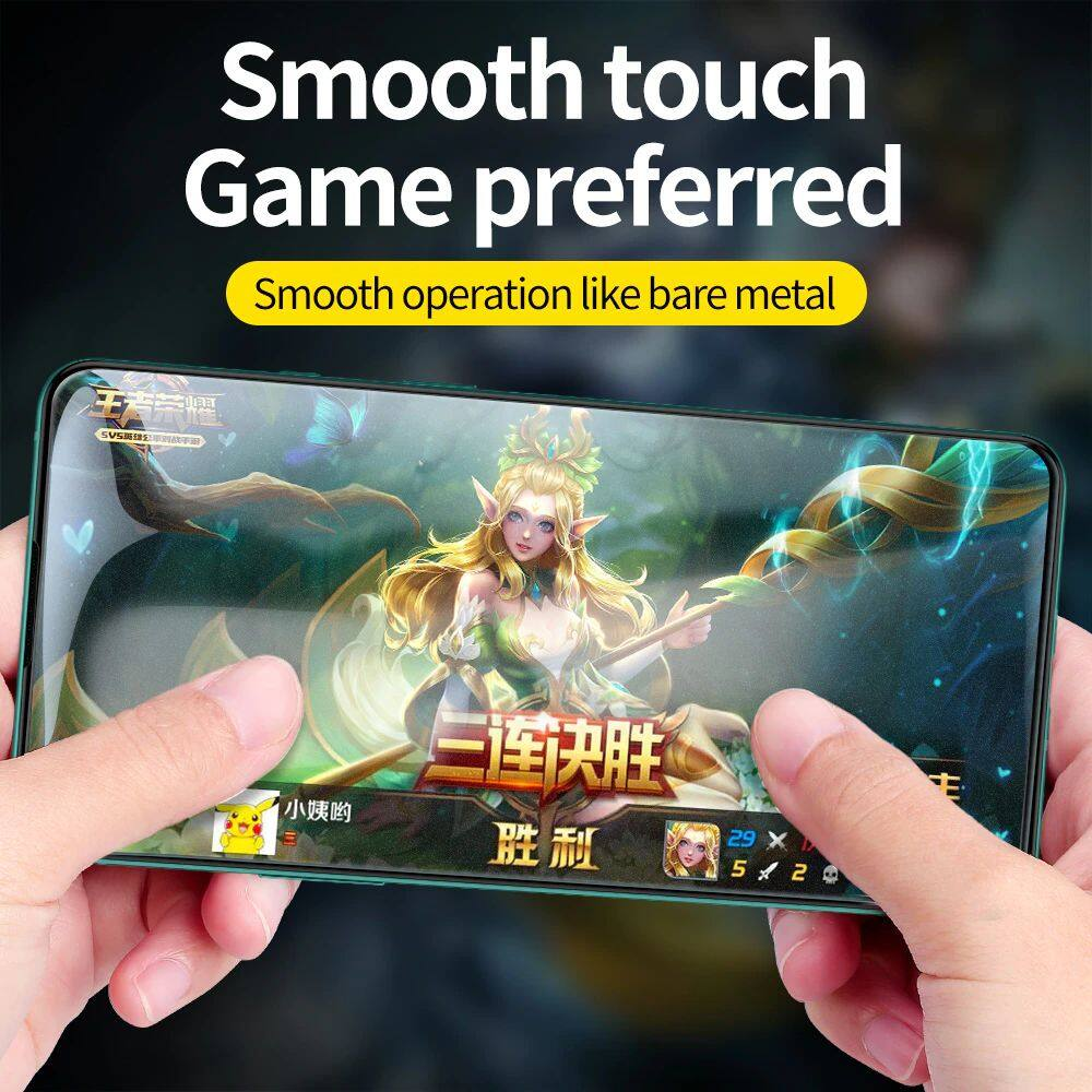 SmartDevil Amazing Full Screen Coverage Tempered Glass for iPhone XS, XS Max 5