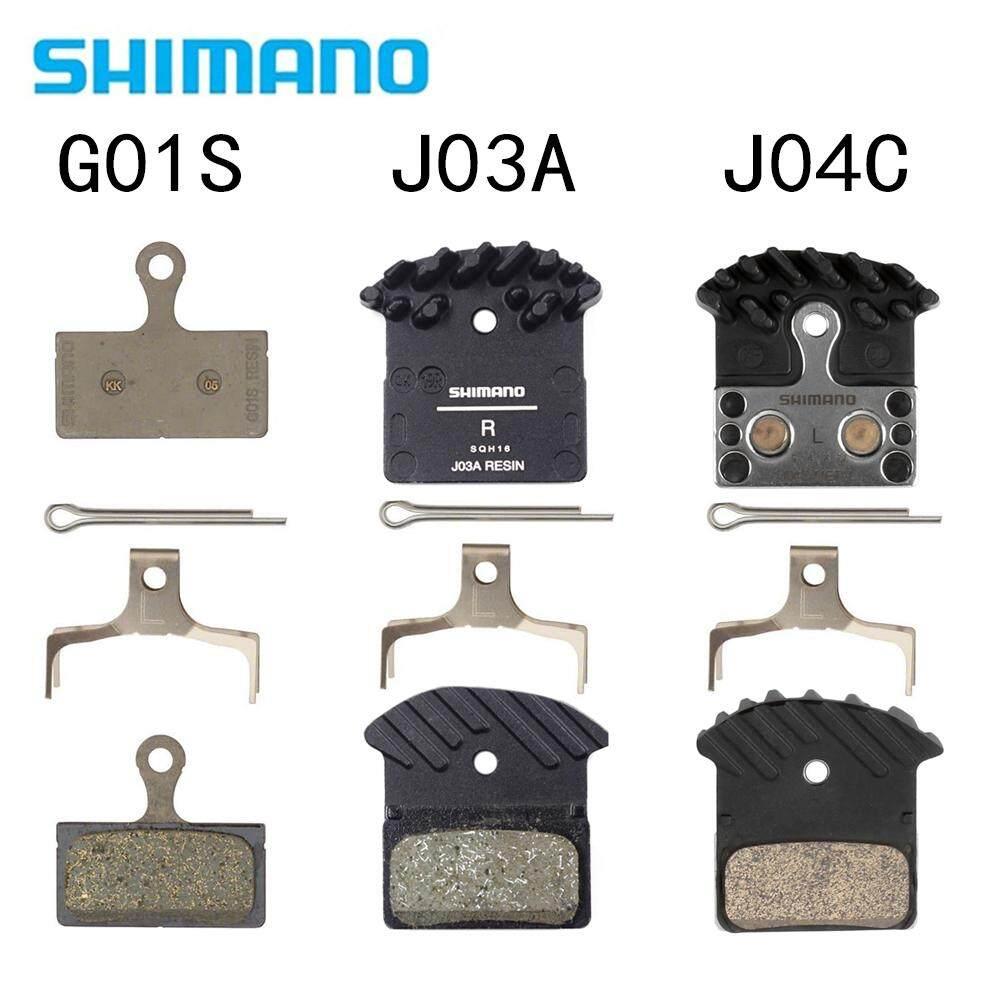Shimano F01A Resin Ice Tech Disc Bike Brake Pads w//Fin Pair