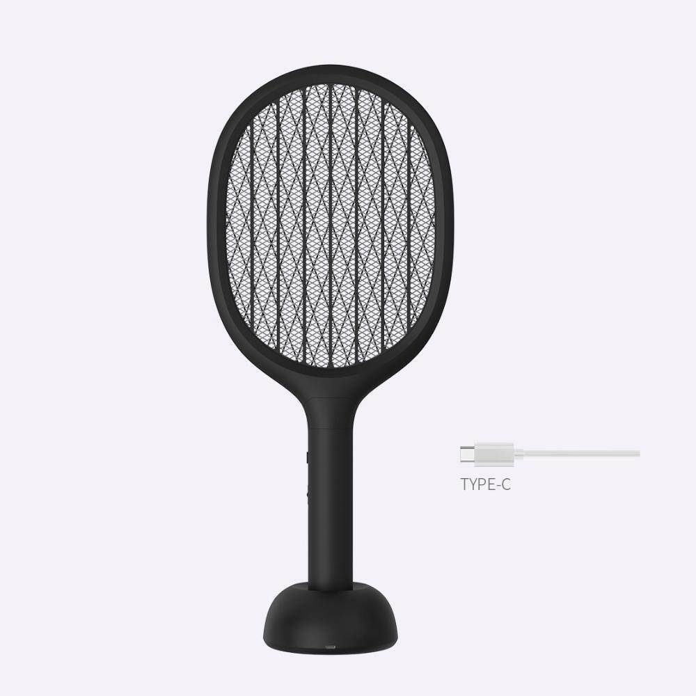 Xiao mi EcoChain Solove P1 Electric Mosquito Home Electric Fly Mosquito  Swatter Mosquito Killer Bug Racket Insects Killer USB Charging