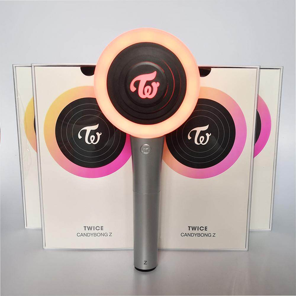 KPOP TWICE Official App Controlled Lightstick Ver 2 New CANDYBONG Z Light  Stick With Bluetooth or without Bluetooth