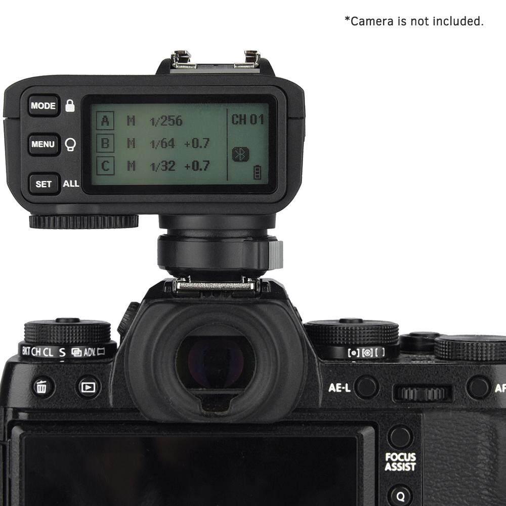 Godox X2T-F TTL Wireless Flash Trigger 1/8000s HSS 2 4G Trigger Transmitter  for Fuji DSLR Camera for Godox V1 TT350F AD200 AD200Pro for iPhone for