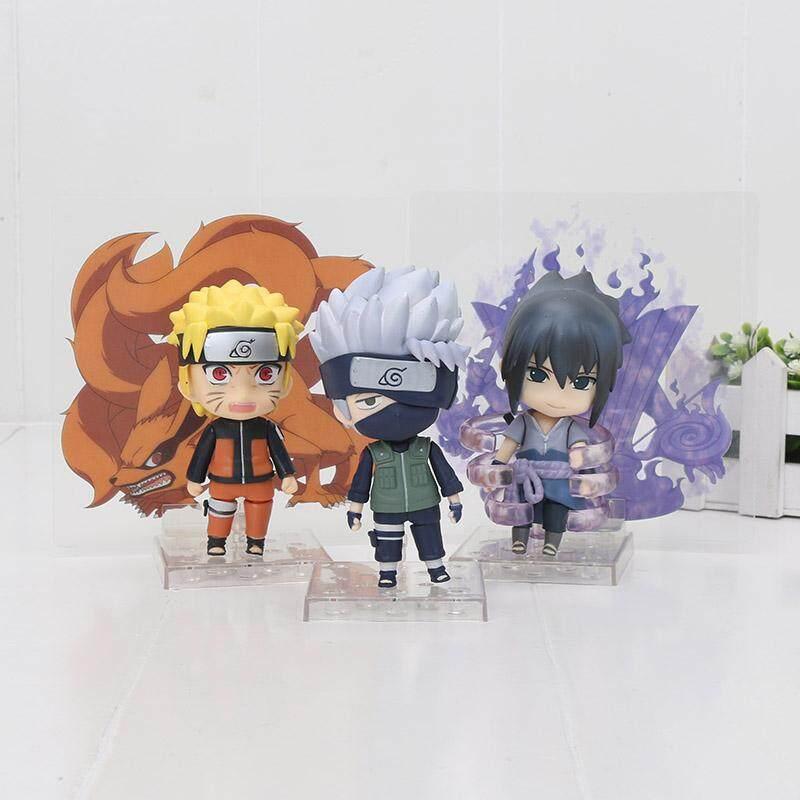 Anime Nendoroid 724 Naruto Shippuden Kakashi Hatake PVC Figure New No Box