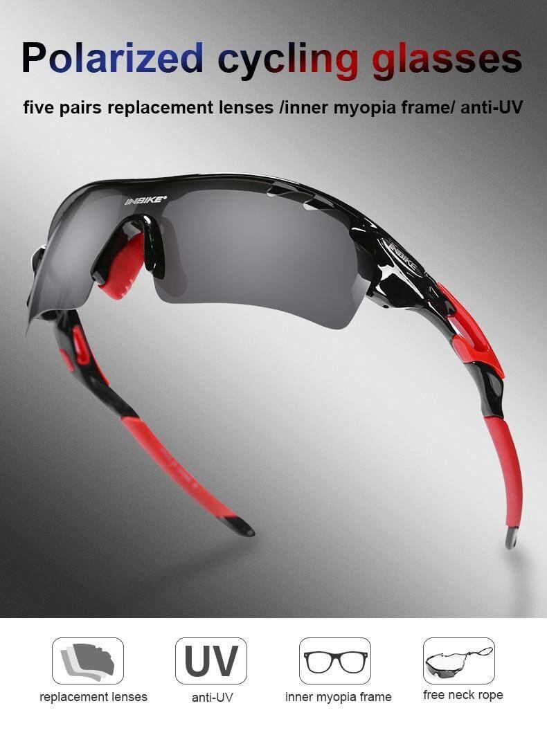 Cycling Glasses Polarized Bike Eyewear  Bicycle Goggles Outdoor Sunglasses UV